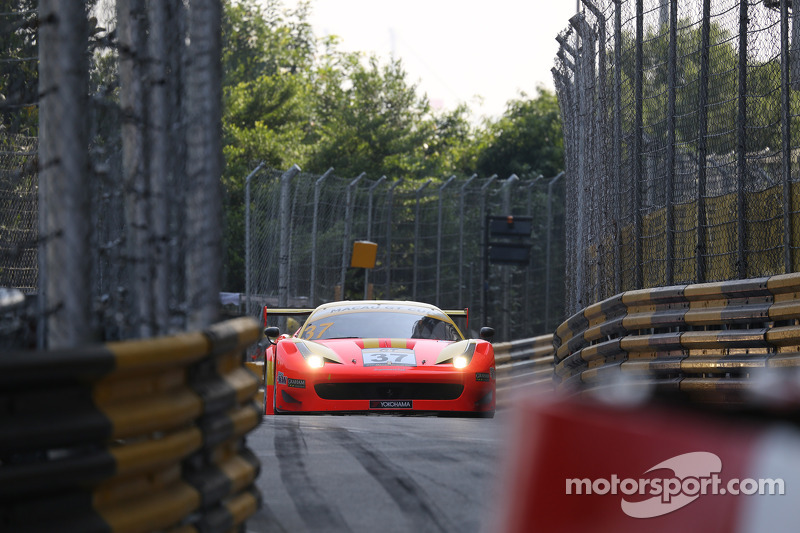 #37 BBT Ferrari 458 Italia GT3: Xu Liu
