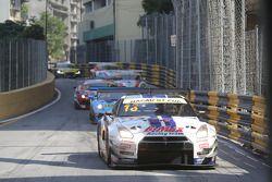 #13 B-Max Racing Takımı Nissan GT-R Nismo GT3: Katsumasa Chiyo