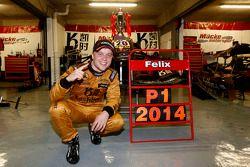 Vincitore Felix Rosenqvist, Kashbet.com by Mücke Motorsport Dallara F312 Mercedes-HWA
