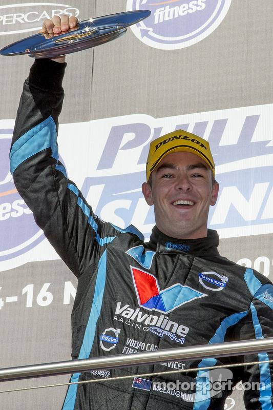 Winner Scott McLaughlin, Polestar Racing Volvo S60