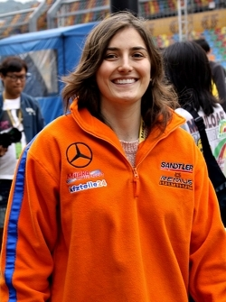 Tatiana Calderon, JZR / Mücke Motorsport Dallara F312 Mercedes-HWA