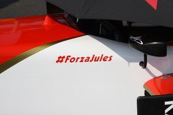 A message of support for Jules Bianchi