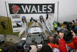Los ganadores Sébastien Ogier y Julien engrassia, Volkswagen Polo WRC, Volkswagen Motorsport