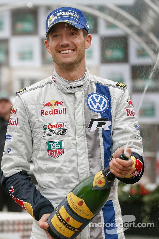 Vencedor Sébastien Ogier, Volkswagen Motorsport
