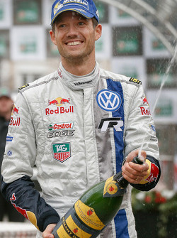 Le vainqueur Sébastien Ogier, Volkswagen Motorsport