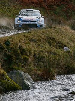Sébastien Ogier y Julien engrassia, Volkswagen Polo WRC, Volkswagen Motorsport