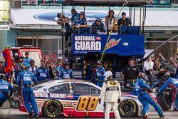 Arrêt au stand - Dale Earnhardt Jr., Hendrick Motorsports Chevrolet