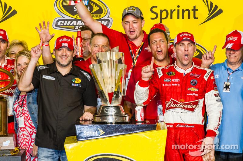 2014 Champions - Kevin Harvick and Stewart-Haas Racing