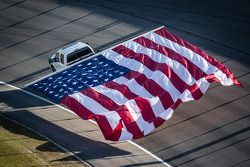 American flag is presented