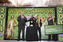 2014 Top Fuel-kampioen Tony Schumacher