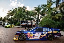 El auto campeón de la NASauto Nationwide Series