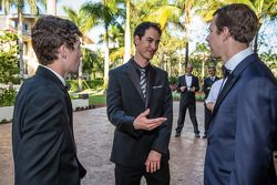 Ryan Blaney, Joey Logano and Brad Keselowski