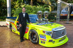 NASCAR Camping World Truck Series-kampioen Matt Crafton