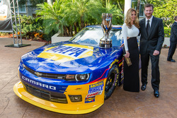 Dale Earnhardt Jr. Avec sa petite amie Amy Reimann