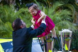 NASCAR Camping World Truck Series - Le champion Matt Crafton avec sa fille
