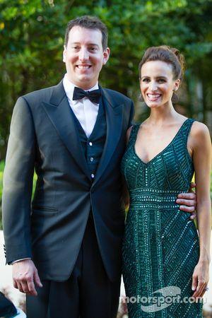 凯尔·布什和妻子萨曼莎