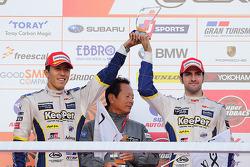 Podio: secondo posto Daisuke Ito, Andrea Caldarelli
