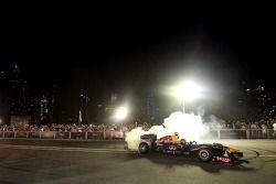 Sebastian Vettel e Daniel Ricciardo all'Infiniti Road Show
