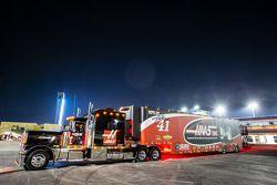 Hauler for Kurt Busch, Stewart-Haas Racing Chevrolet