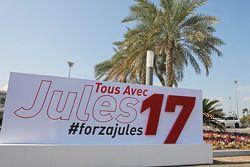 Un messaggio di supporto per Jules Bianchi