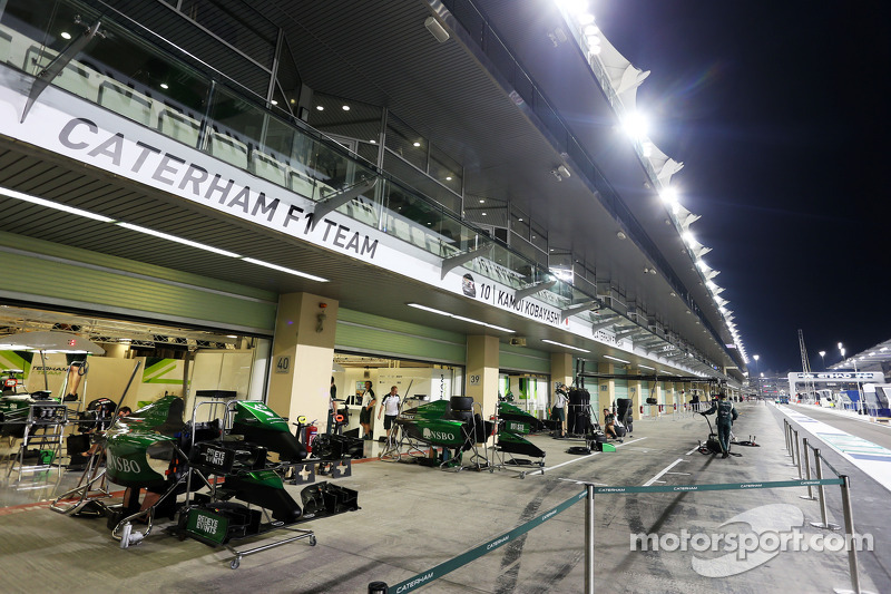 Caterham F1 Team psi repara per il GP ai box