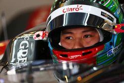 Adderly Fong, Sauber C33, Testfahrer