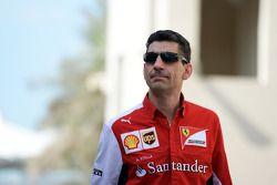 Andrea Stella, Ferrari Ingegnere di pista