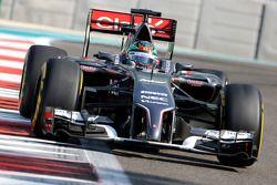 Adderly Fong, Sauber F1 Team, Testfahrer