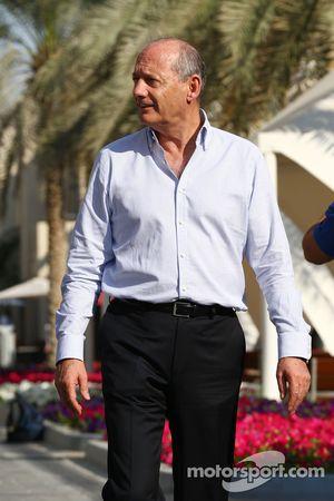Ron Dennis, presidente e CEO della McLaren