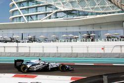 Valtteri Bottas, Williams FW36 ve olmayan sidepod kapağı