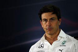 Toto Wolff, Mercedes AMG F1 Hissedarı ve Genel Müdürü FIA Basın Konferansı'nda