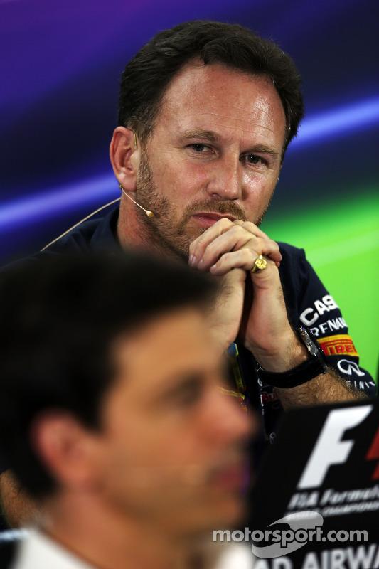 Christian Horner, Red Bull Racing Takım Patronu ve Toto Wolff, Mercedes AMG F1 Hissedarı ve Genel Mü