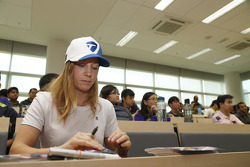 Michela Cerruti, Trulli Racing, Heriot Watt Üniversite Kampüsü'nde, Putrajaya