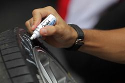 Tire marking