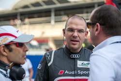 Audi technical project leader Chris Reinke