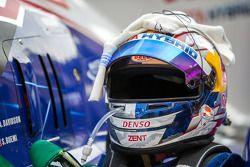 Helmet of Sébastien Buemi