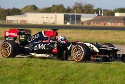 Martin Ivanov dans la Lotus F1