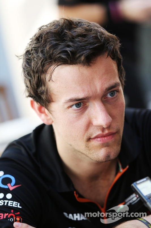 Jolyon Palmer, Sahara Force India F1 Team