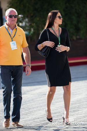Minttu Virtanen, fidanzata di Kimi Raikkonen, Ferrari