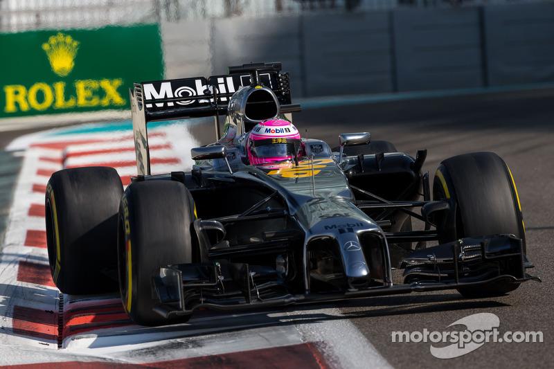 2014 - McLaren MP4-29 (motor Mercedes)