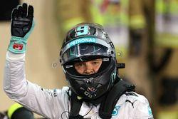 Pole per Nico Rosberg, Mercedes AMG F1 W05