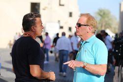 Jean Alesi avec Jonathan Palmer