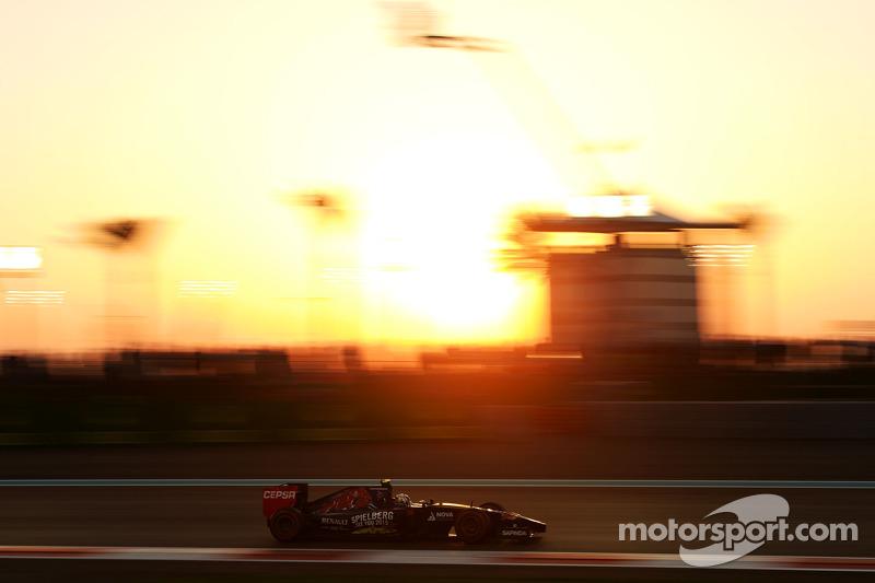2014 год. За рулем болида Toro Rosso STR9 на квалификации