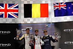 Vainqueur: Stoffel Vandoorne, ART Grand Prix, 2ème Jolyon Palmer, DAMS, 3ème Mitch Evans, RT RUSSIAN