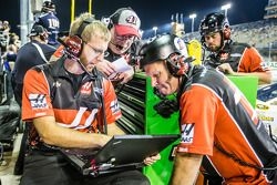 Stewart-Haas Racing Chevrolet team members