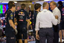 Red Bull Racing RB10, Sebastian Vettel, Red Bull Racing, FIA Delegesi Jo Bauer tarafından inceleme a