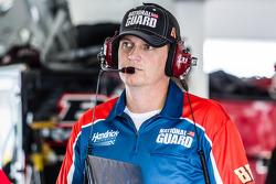 Steve Letarte, chef d'équipe de Dale Earnhardt Jr., Hendrick Motorsports Chevrolet