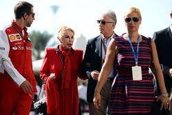 Piero Ferrari, vicepresidente Ferrari con la famiglia