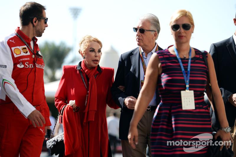 Piero Ferrari, Ferrari Vice Presidente con su familia