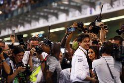 Toto Wolff, Mercedes AMG F1 Hissedarı ve Genel Müdürü kapalı parkta